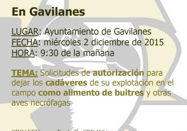 Convocatoria Reuniones Informativas en ZEPA Valle de Tiétar